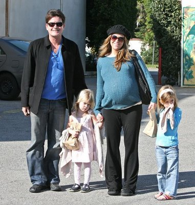 Charlie Sheen and wife, Brooke welcome twin boys on Saturday.